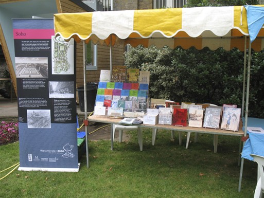 Photo:Westminster City Archives stall